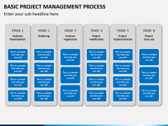 Basic project management PPT slide 6