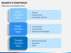 Belbin's team roles PPT slide 5