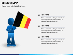 Belgium map PPT slide 23