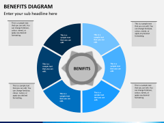 Benefits diagram PPT slide 5