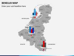 Benelux map PPT slide 18