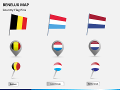 Benelux map PPT slide 19