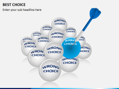 Best choice PPT slide 2