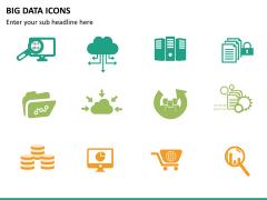 Big data icons PPT slide 6