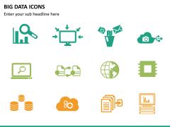 Big data icons PPT slide 8