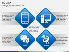 Big data PPT slide 1