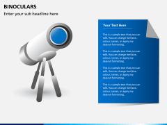 Binoculars PPT slide 2