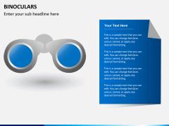 Binoculars PPT slide 3