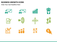 Business Growth Icons PPT slide 11