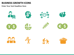Business Growth Icons PPT slide 12