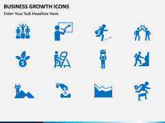 Business Growth Icons PPT slide 2