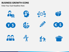 Business Growth Icons PPT slide 4