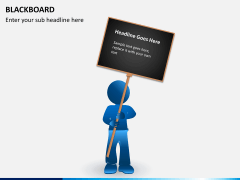 Blackboard PPT slide 3