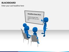 Blackboard PPT slide 5