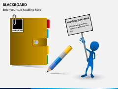 Blackboard PPT slide 7