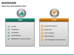 Blockchain PPT slide 34