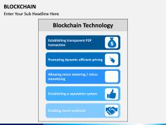 Blockchain PPT slide 14