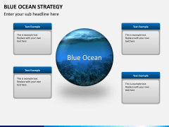 Blue ocean strategy PPT slide 2