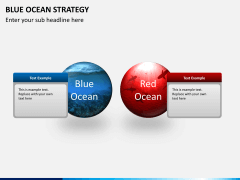 Blue ocean strategy PPT slide 3