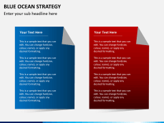 Blue ocean strategy PPT slide 4