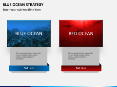 Blue ocean strategy PPT slide 5