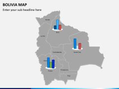 Bolivia map PPT slide 11