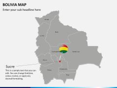 Bolivia map PPT slide 14
