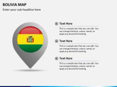 Bolivia map PPT slide 16