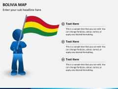 Bolivia map PPT slide 17