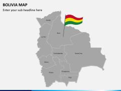 Bolivia map PPT slide 2