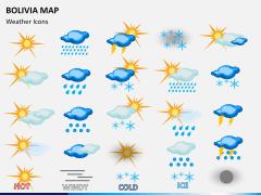 Bolivia map PPT slide 20