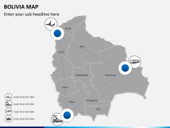 Bolivia map PPT slide 6