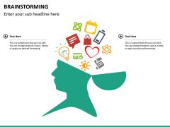 Brainstorming PPT slide 12