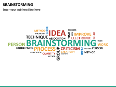 Brainstorming PPT slide 14