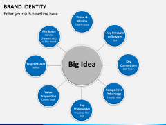 Brand identity PPT slide 14
