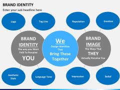Brand identity PPT slide 2
