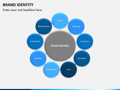 Brand identity PPT slide 5