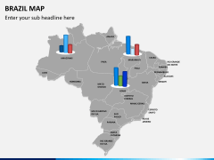 Brazil map PPT slide 15