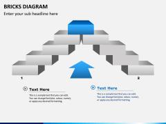 Bricks diagram PPT slide 2