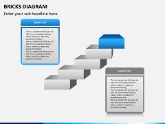 Bricks diagram PPT slide 4
