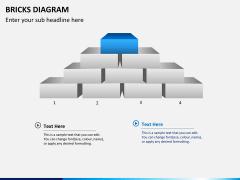 Bricks diagram PPT slide 8