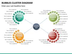 Bubbles cluster diagram PPT slide 16