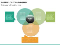 Bubbles cluster diagram PPT slide 28