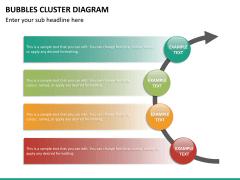 Bubbles cluster diagram PPT slide 29