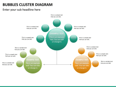 Bubbles cluster diagram PPT slide 20