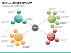 Bubbles cluster diagram PPT slide 23
