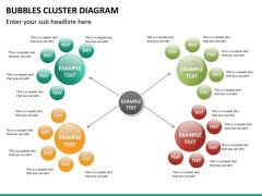 Bubbles cluster diagram PPT slide 24