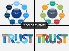 Build trust PPT cover slide