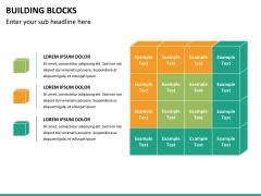 Building blocks PPT slide 8