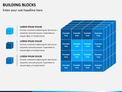 Building blocks PPT slide 1